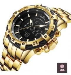 Relógio Luxo Golden Hour