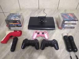 PlayStation 3 SuperSlim 500gb Completo !! (Sou de ITU-SP)