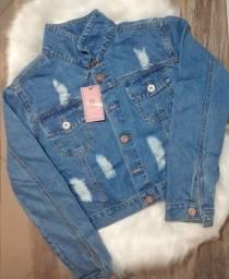 Linda Jaqueta Jeans - Loja Viligili - Peças incríveis no precinho !!!