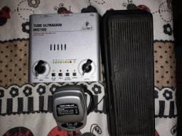 Vendo Amplificador de Violão e microfone