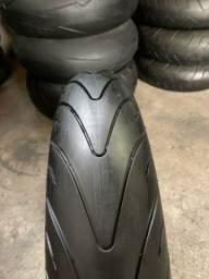 Michelin PilotRoad 2 Dianteiro  para Hornet CB1000 R1 R6 MT07 MT09 Bantit Z800 Z1000