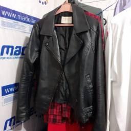 Vendo casaco couro sintético R$150,00