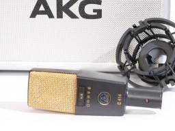 Microfone AKG  C414 Xl II Multi  Dark Gray/silver