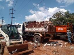 Locação máquinas e caminhão