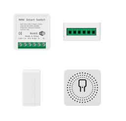 Título do anúncio: Interruptor Tuya mini 16A, melhor que o Sonoff Mini. Bivolt. Alexa e Google Home