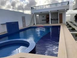 Casa com 5 dormitórios para alugar por R$ 1.400,00 - Praia de Carapibus - João Pessoa/PB
