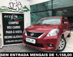 Nissan Versa  1.6 16V SL FLEX MANUAL