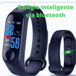 Relógio inteligente via bluetooth