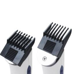 Barbeador Elétrico Apara Pelos, Corta Barba, Pezinho Recarregável Bateria
