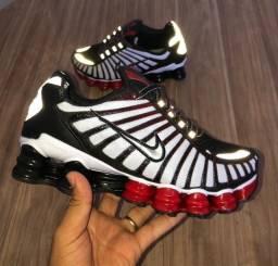 Tênis Nike 12 MOLAS branco/preto (ENTREGA GRÁTIS)