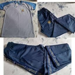 Calça + camisa educação adventista