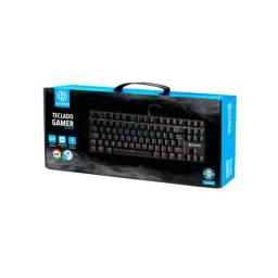 Teclado Gamer Mecânico Mj87b Hoopson Rgb Pc Xbox One Ps4