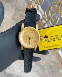 Invicta yakuza dourado c/ preto automático top