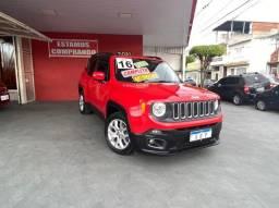 Título do anúncio: Jeep Renegade  Longitude 1.8 VERMELHA 2016 FLEX AUTOMÁTICO