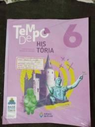 Livro Tempo de História do 6° ano
