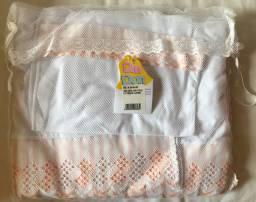 Jogo de lençol infantil para mini cama