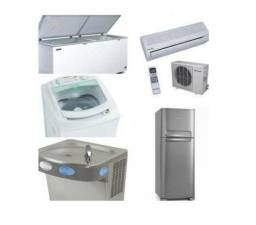 conserto de ar condicionado, geladeira e maq de lavar