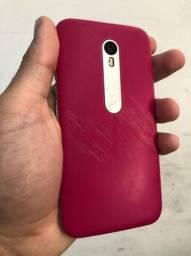 Celular Moto G3 + fone bluetooth Mi11