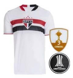 Camisa São Paulo 2021 Original Libertadores até 12x sem juros + Frete Todo Brasil!