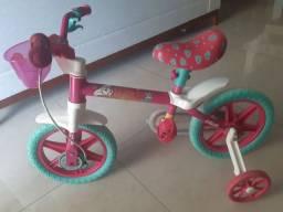 Bicicleta Infantil Caloi Barbie aro 12