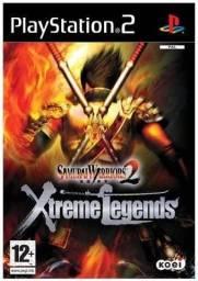 Jogos Samurai Warriors  Xtreme Legends 2 + Samurai Warriors 2  PS2 - Play Station 2