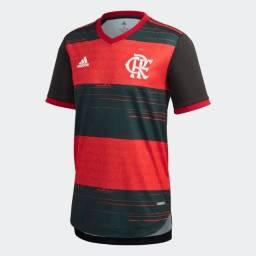 Camisa Authentic CR Flamengo 1 Masculino Oficial