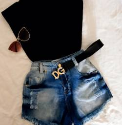 Super barato!! Shorts jeans a preço de custo