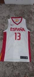 Regata Nike Espanha Basquete M
