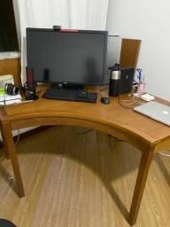 Mesa para computador linha armazém Tok Stok