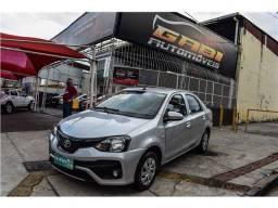 Título do anúncio: Toyota Etios 2019 1.5 x plus 16v flex 4p manual