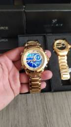Relógio Naviforce Original Digital e Analógico Entrega Grátis