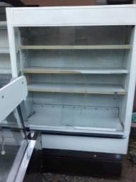 Refrigerador mercearia e mercado