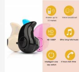 Mini Fone de Ouvido Sem Fio 4.1 Estéreo Intra-auricular Universal