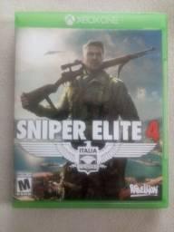 Vendo jogo Sniper Elite 4 para X box one