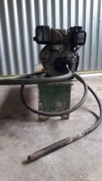 Vibrador de concreto a diesel