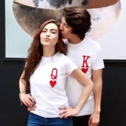 Conjunto de camiseta Personalizada namorados