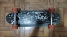 Skate longboard fish