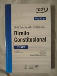 1001 Questões Comentadas de Direito Constitucional 4ª edição