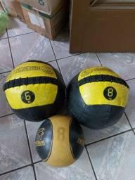 medicine ball e wall ball de 8kg