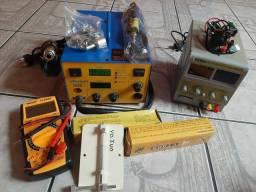 Equipamentos para manutenção de celular