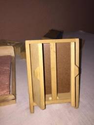 Brinquedo móveis de madeira