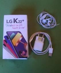 TROCO LG K22+ 64gb completo na caixa