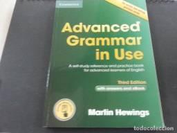 Advanced Grammar in Use Ingles English Student Teacher