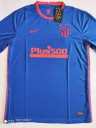 Camisa Atlético de Madrid Away Nike 20/21 - Tamanho: G