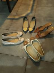 Sapatilhas e tamanco