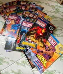 Coleção de revistas Marvel e DC para colecionador