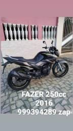 YAMAHA FAZER 250cc 2016 ( IMPECÁVEL )