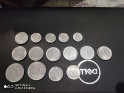 Vendo moedas colecionáveis