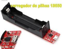 carregador de pilhas 18650 4.2V