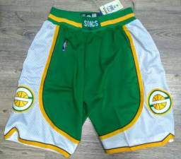 Short basquete nba Seattle supersonics